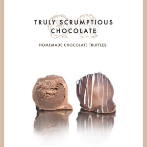 Truly Scrumptious Homemade Chocolate Truffles