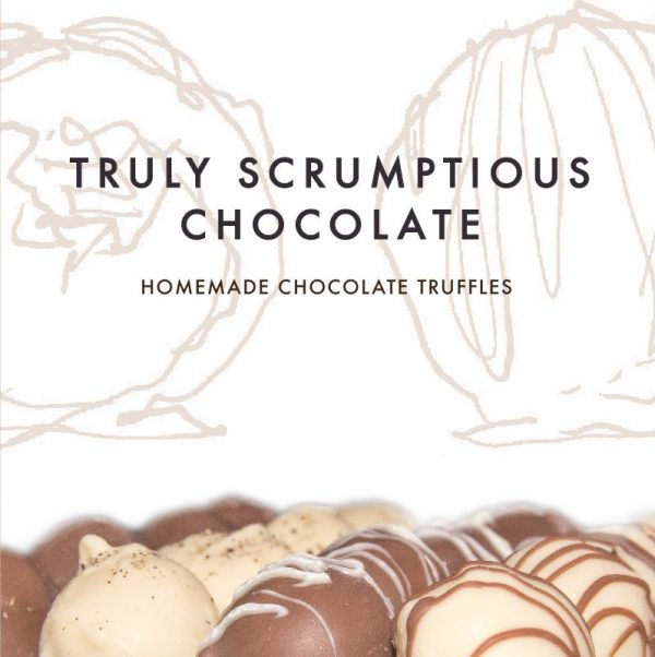 Truly Scrumptious Homemade Chocolate Truffles